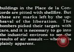 Image of World War 2 Allied bombing effects in France Paris France, 1945, second 60 stock footage video 65675021871