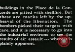 Image of World War 2 Allied bombing effects in France Paris France, 1945, second 62 stock footage video 65675021871