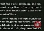 Image of Allied bombing Paris France, 1945, second 29 stock footage video 65675021876