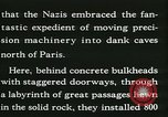 Image of Allied bombing Paris France, 1945, second 31 stock footage video 65675021876
