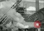 Image of steel mill Germany, 1940, second 27 stock footage video 65675021929