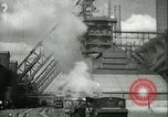 Image of steel mill Germany, 1940, second 29 stock footage video 65675021929