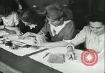 Image of food ration stamps France, 1940, second 20 stock footage video 65675021932