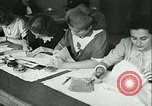 Image of food ration stamps France, 1940, second 22 stock footage video 65675021932