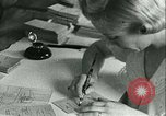 Image of food ration stamps France, 1940, second 39 stock footage video 65675021932