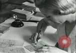 Image of food ration stamps France, 1940, second 43 stock footage video 65675021932