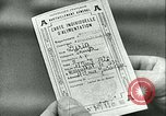 Image of food ration stamps France, 1940, second 51 stock footage video 65675021932