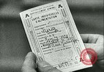 Image of food ration stamps France, 1940, second 52 stock footage video 65675021932