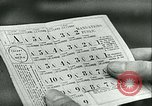 Image of food ration stamps France, 1940, second 54 stock footage video 65675021932