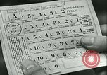 Image of food ration stamps France, 1940, second 57 stock footage video 65675021932