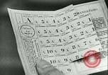 Image of food ration stamps France, 1940, second 60 stock footage video 65675021932