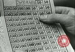 Image of food ration stamps France, 1940, second 62 stock footage video 65675021932