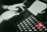 Image of Nazi newspaper printing during Paris occupation Paris France, 1940, second 10 stock footage video 65675021941