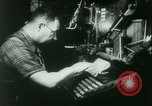 Image of Nazi newspaper printing during Paris occupation Paris France, 1940, second 13 stock footage video 65675021941