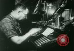 Image of Nazi newspaper printing during Paris occupation Paris France, 1940, second 14 stock footage video 65675021941