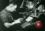 Image of Nazi newspaper printing during Paris occupation Paris France, 1940, second 15 stock footage video 65675021941