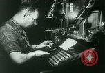 Image of Nazi newspaper printing during Paris occupation Paris France, 1940, second 16 stock footage video 65675021941
