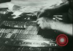 Image of Nazi newspaper printing during Paris occupation Paris France, 1940, second 18 stock footage video 65675021941