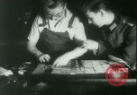Image of Nazi newspaper printing during Paris occupation Paris France, 1940, second 24 stock footage video 65675021941