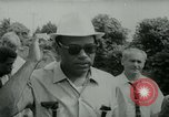 Image of James Meredith and his March Against Fear Mississippi United States USA, 1966, second 11 stock footage video 65675021951