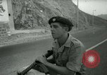 Image of British Royal Marines sealing off Crater township Aden Yemen, 1966, second 39 stock footage video 65675021952