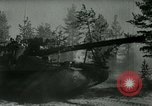 Image of Swedish Army demonstrating nuclear-capable artillery gun Sweden, 1966, second 9 stock footage video 65675021955