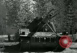 Image of Swedish Army demonstrating nuclear-capable artillery gun Sweden, 1966, second 21 stock footage video 65675021955