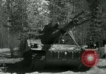 Image of Swedish Army demonstrating nuclear-capable artillery gun Sweden, 1966, second 22 stock footage video 65675021955