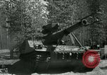 Image of Swedish Army demonstrating nuclear-capable artillery gun Sweden, 1966, second 23 stock footage video 65675021955