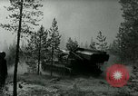 Image of Swedish Army demonstrating nuclear-capable artillery gun Sweden, 1966, second 27 stock footage video 65675021955