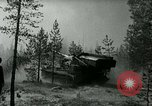 Image of Swedish Army demonstrating nuclear-capable artillery gun Sweden, 1966, second 28 stock footage video 65675021955