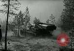 Image of Swedish Army demonstrating nuclear-capable artillery gun Sweden, 1966, second 31 stock footage video 65675021955