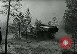 Image of Swedish Army demonstrating nuclear-capable artillery gun Sweden, 1966, second 32 stock footage video 65675021955