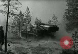 Image of Swedish Army demonstrating nuclear-capable artillery gun Sweden, 1966, second 35 stock footage video 65675021955