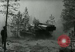 Image of Swedish Army demonstrating nuclear-capable artillery gun Sweden, 1966, second 36 stock footage video 65675021955