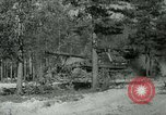 Image of Swedish Army demonstrating nuclear-capable artillery gun Sweden, 1966, second 56 stock footage video 65675021955