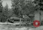 Image of Swedish Army demonstrating nuclear-capable artillery gun Sweden, 1966, second 59 stock footage video 65675021955