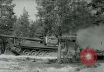 Image of Swedish Army demonstrating nuclear-capable artillery gun Sweden, 1966, second 60 stock footage video 65675021955