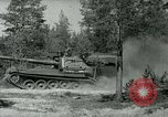 Image of Swedish Army demonstrating nuclear-capable artillery gun Sweden, 1966, second 61 stock footage video 65675021955