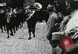 Image of military ceremony Paris France, 1918, second 4 stock footage video 65675021957