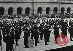 Image of military ceremony Paris France, 1918, second 15 stock footage video 65675021957