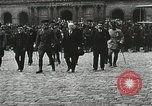 Image of military ceremony Paris France, 1918, second 25 stock footage video 65675021957