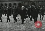Image of military ceremony Paris France, 1918, second 27 stock footage video 65675021957