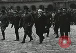 Image of military ceremony Paris France, 1918, second 28 stock footage video 65675021957