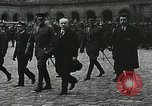 Image of military ceremony Paris France, 1918, second 29 stock footage video 65675021957