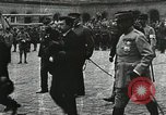 Image of military ceremony Paris France, 1918, second 31 stock footage video 65675021957