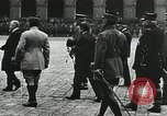 Image of military ceremony Paris France, 1918, second 33 stock footage video 65675021957