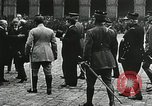 Image of military ceremony Paris France, 1918, second 34 stock footage video 65675021957