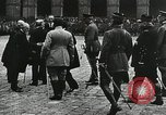 Image of military ceremony Paris France, 1918, second 35 stock footage video 65675021957