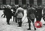 Image of military ceremony Paris France, 1918, second 36 stock footage video 65675021957